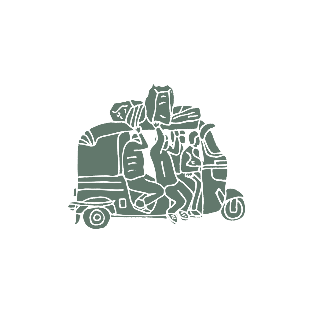 Tuk Tuk illustration
